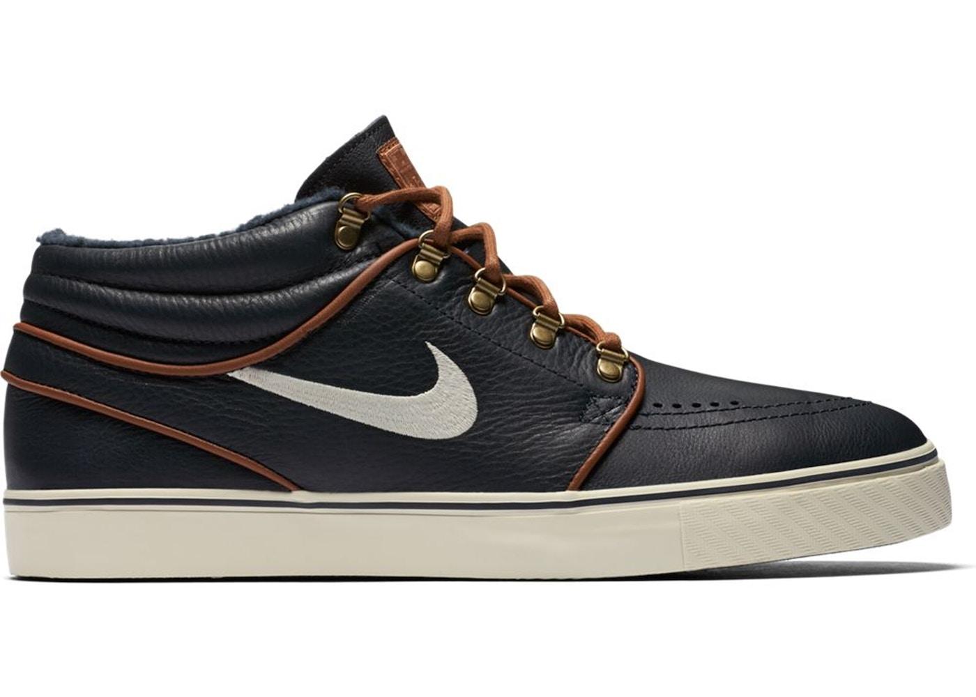 toma una foto Finalmente Perú  Nike SB Zoom Stefan Janoski Mid Obsidian Tan - 472679-423