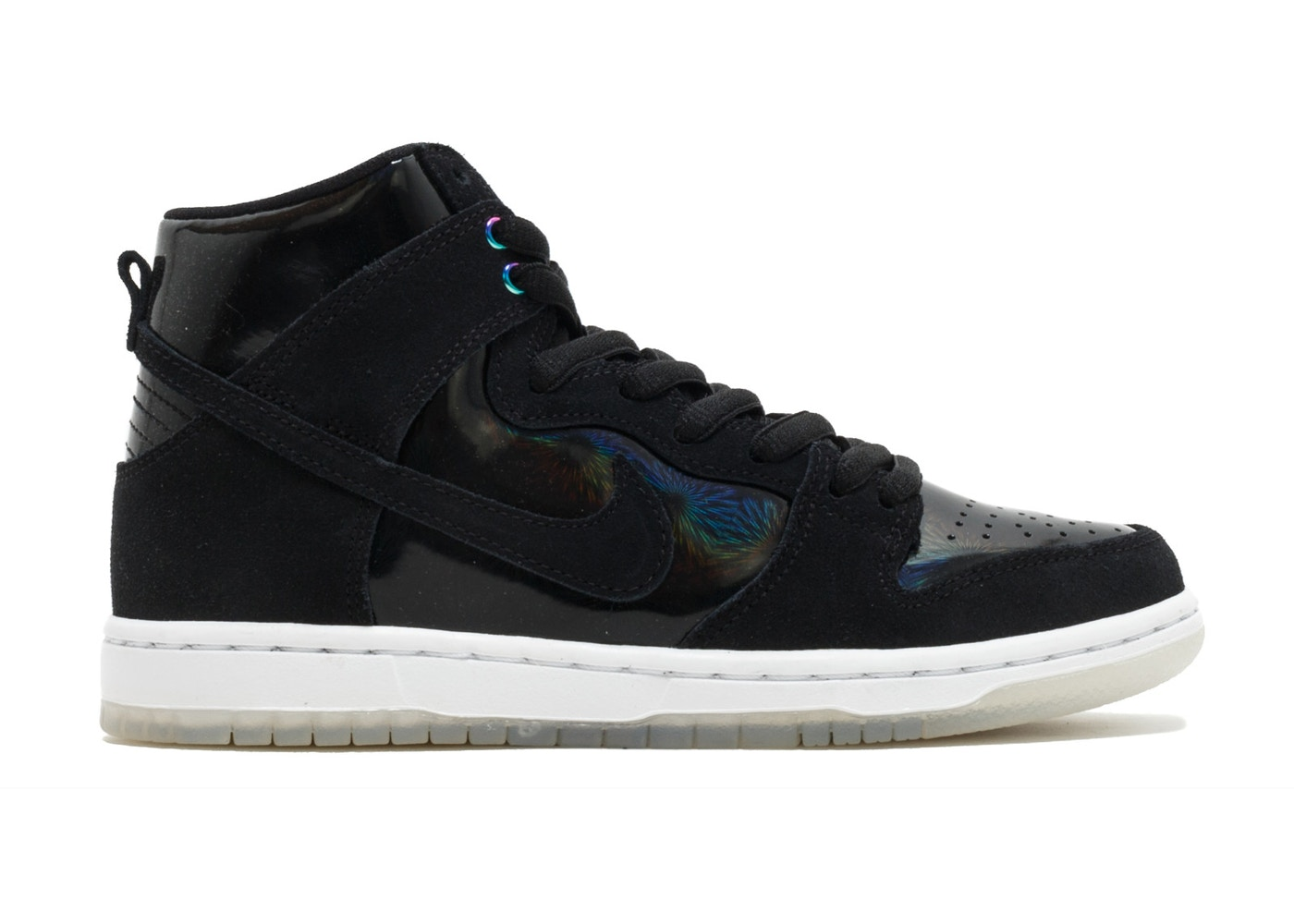 Contable Tía Manifiesto  Nike Sb Zoom Dunk High Pro Black/Black-White-Clear - 854851-001