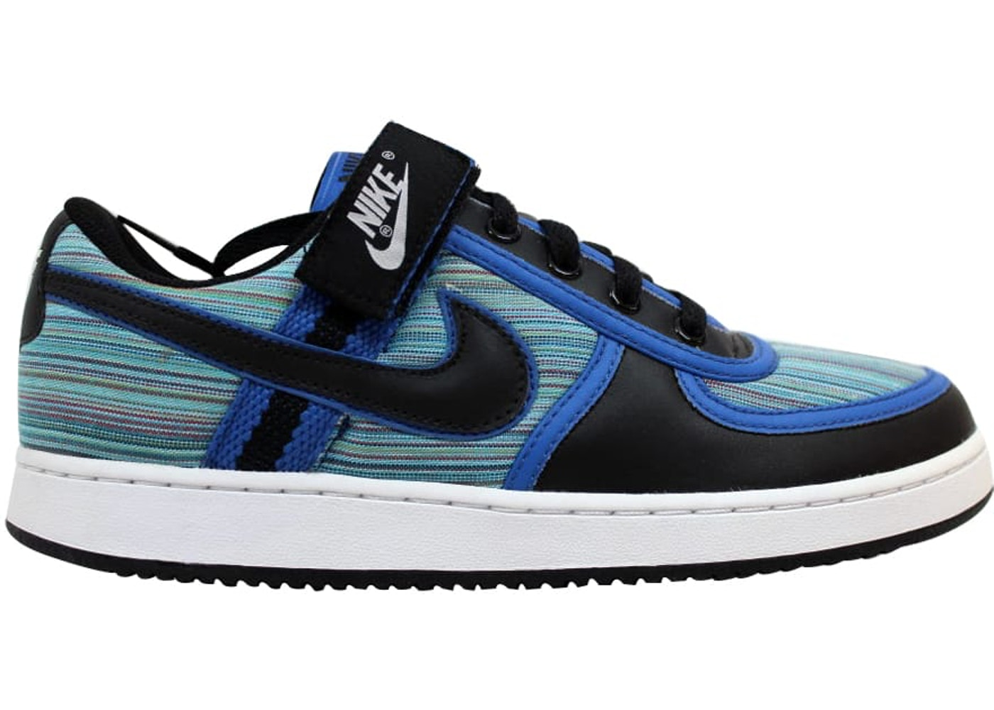Fangoso adoptar Salida  Nike Vandal Low Black/Black-Varsity Royal-Rainbow - 316432-001