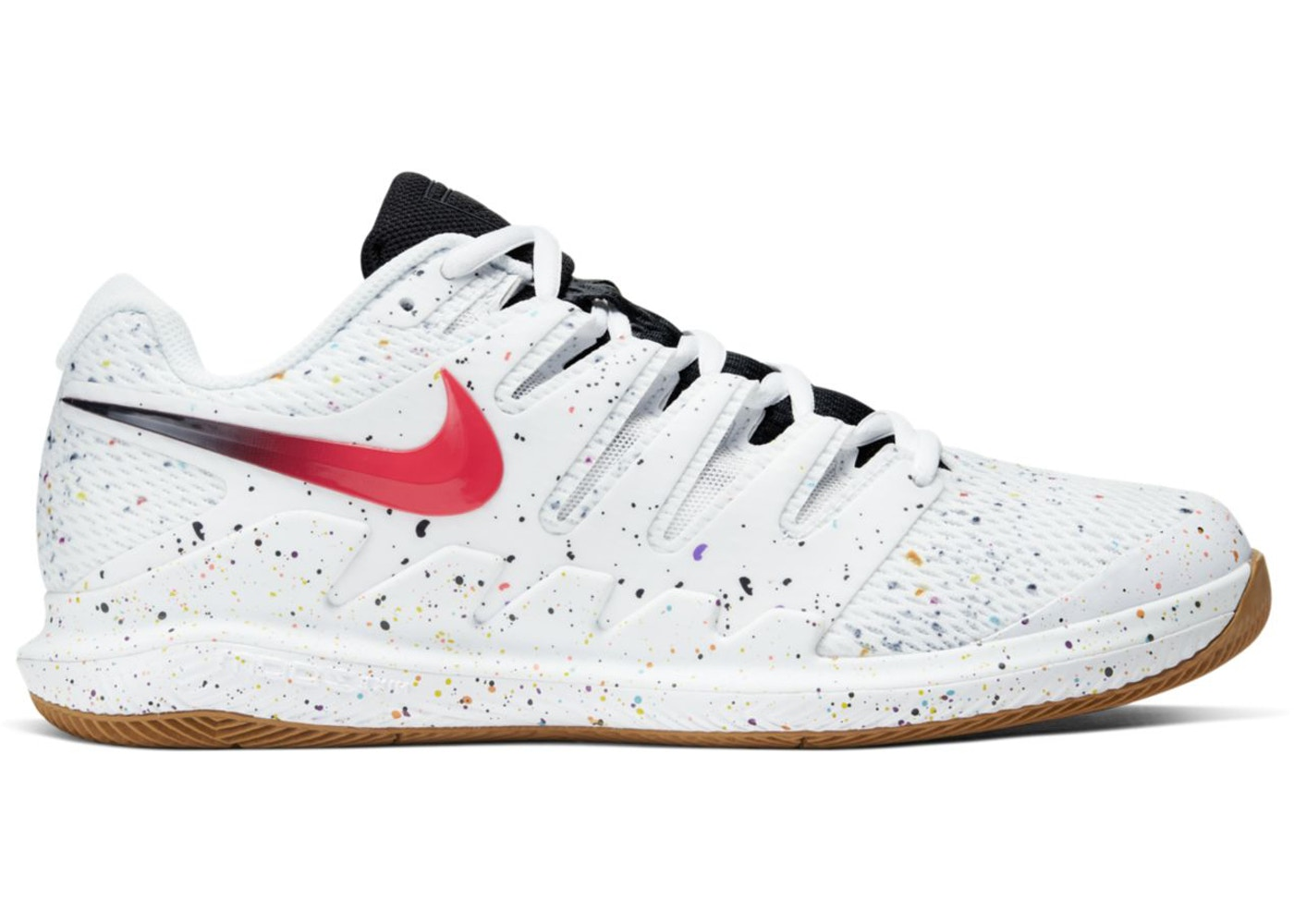 Nikecourt Air Zoom Vapor X White Oracle Aqua Aa8030 108