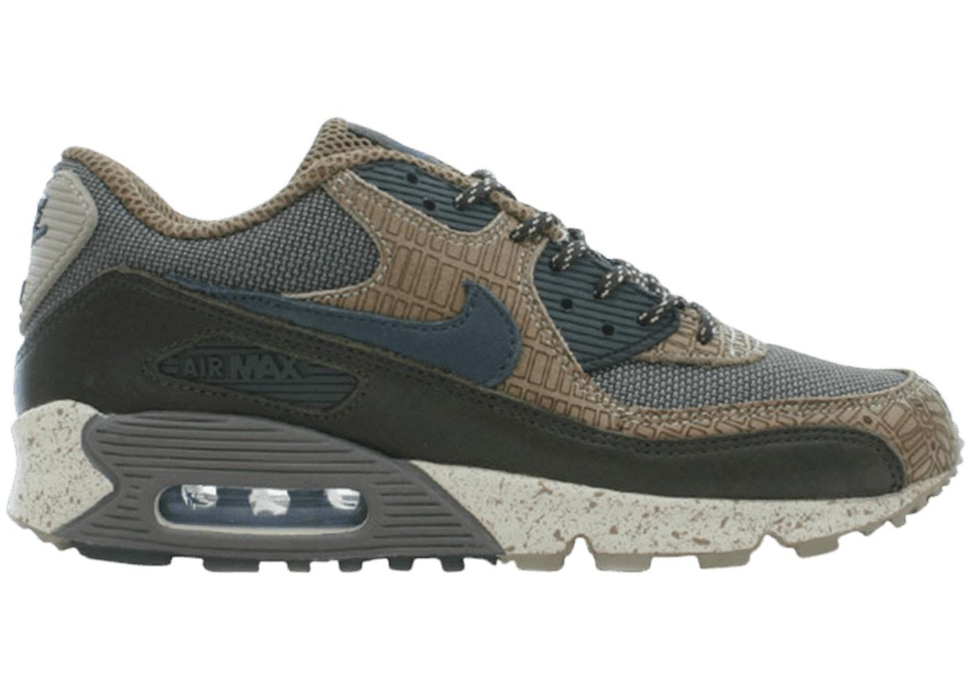 centavo tengo hambre Ánimo  Nike Staple x Air Max 90 Premium Navigation - 308856-001