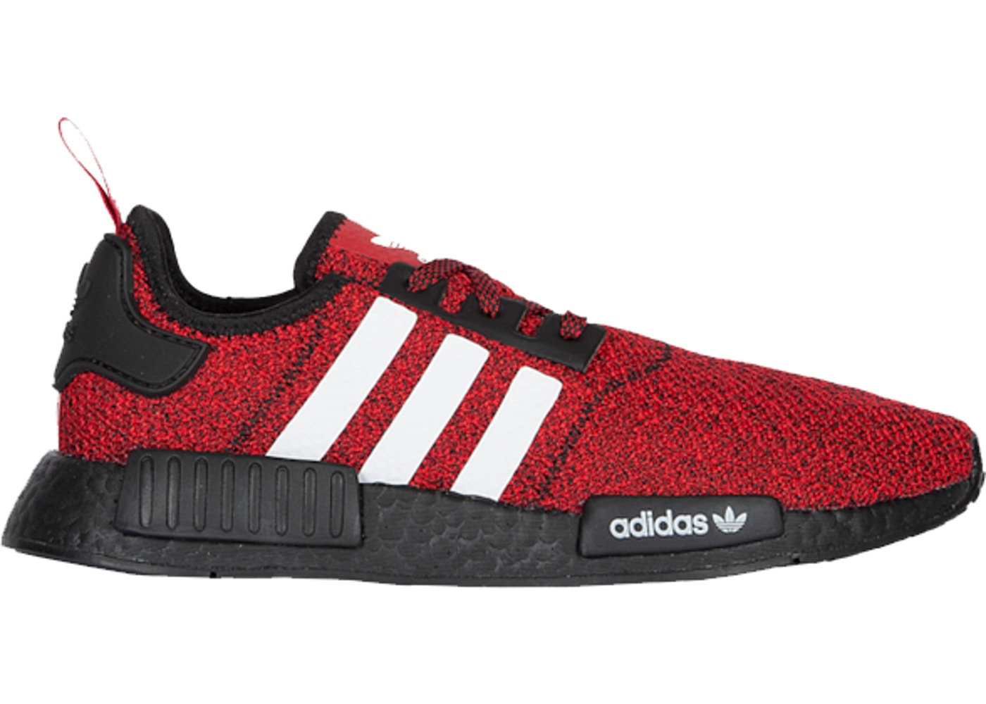 Magistrado jurado Altitud  adidas NMD R1 Carbon Red White Black - EF1241