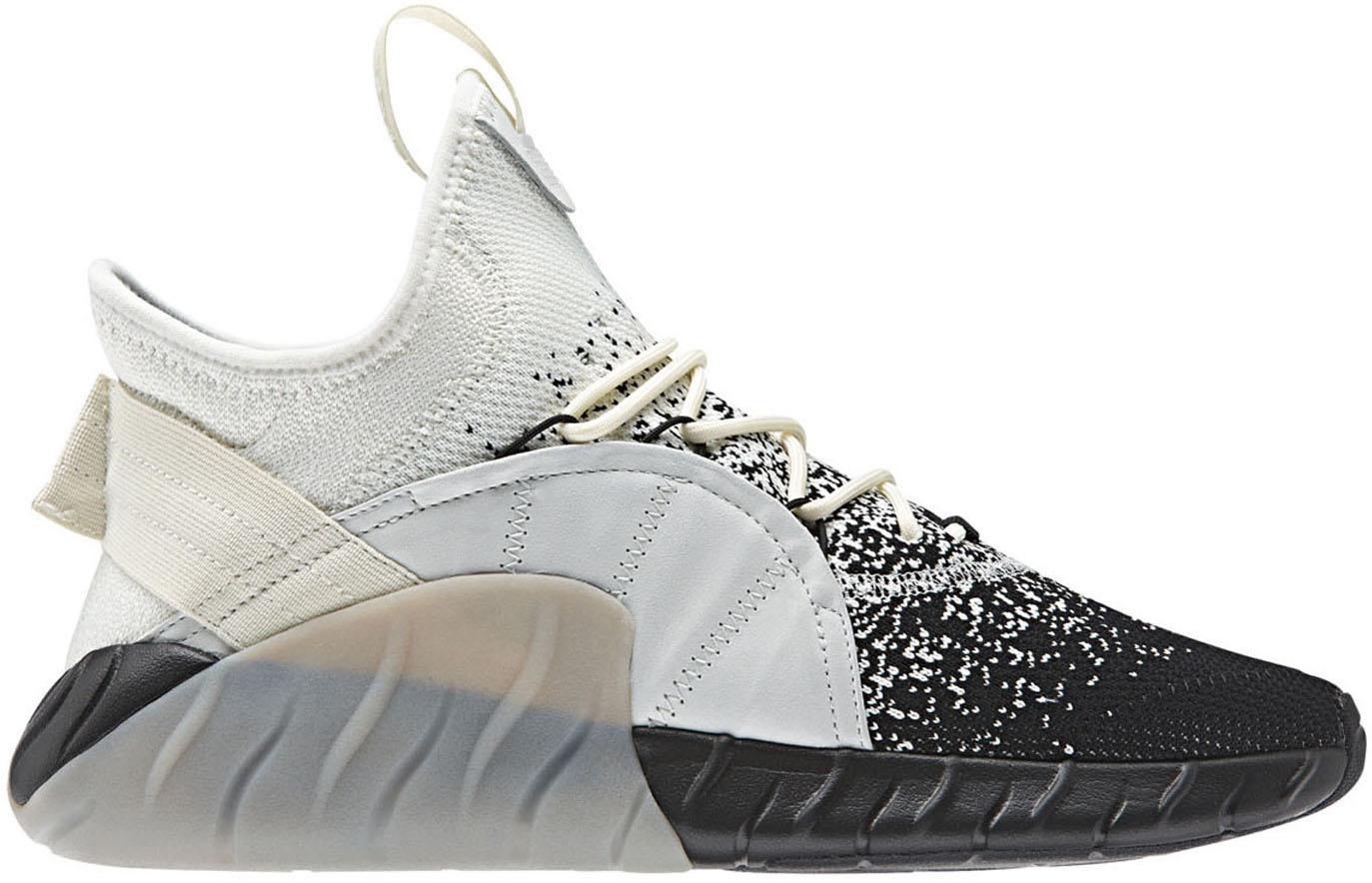 adidas Tubular Rise PK White Black Grey - CQ0924