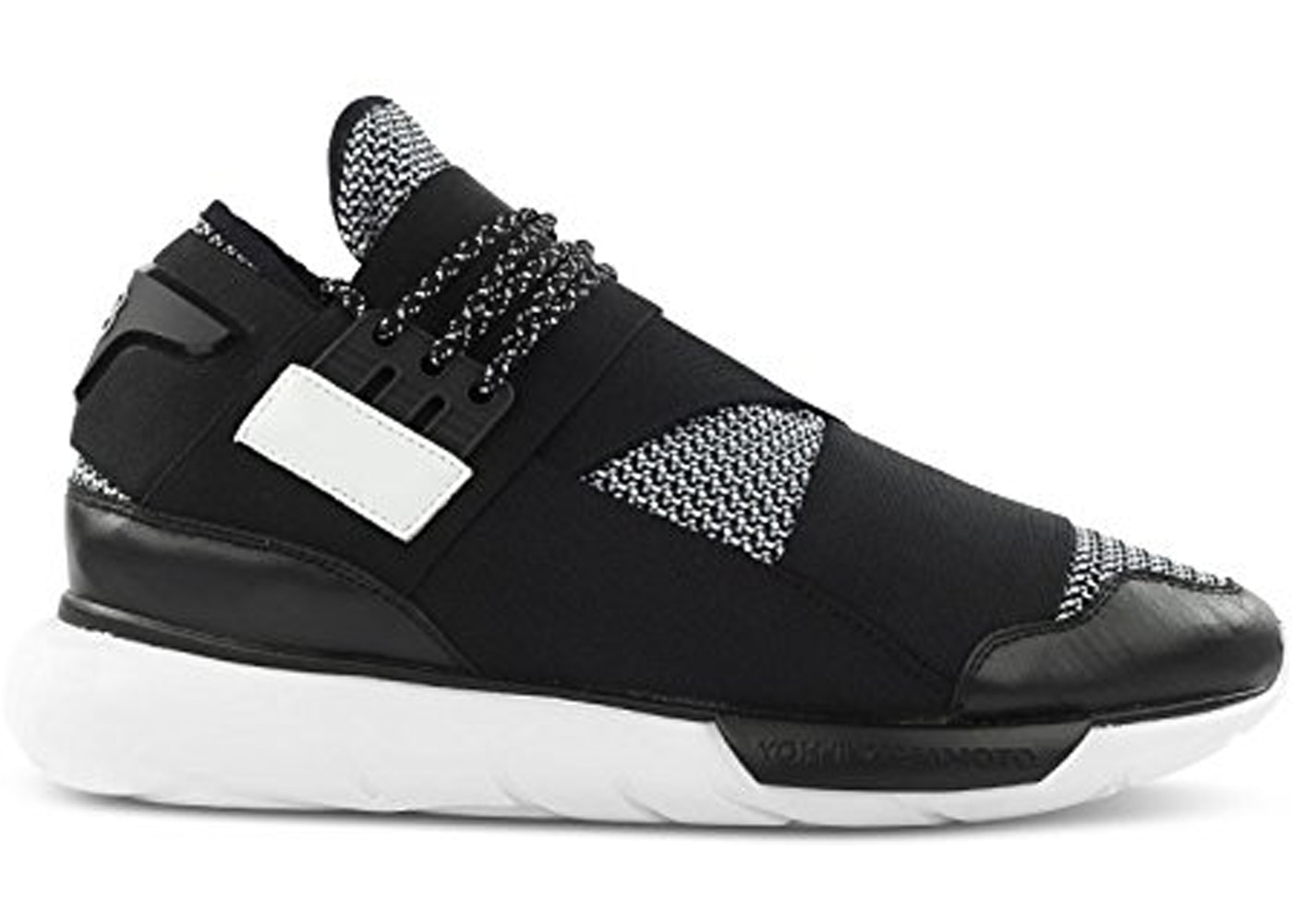 Embrión traducir Frotar  adidas Y-3 Qasa High Black White (2014) - B35674