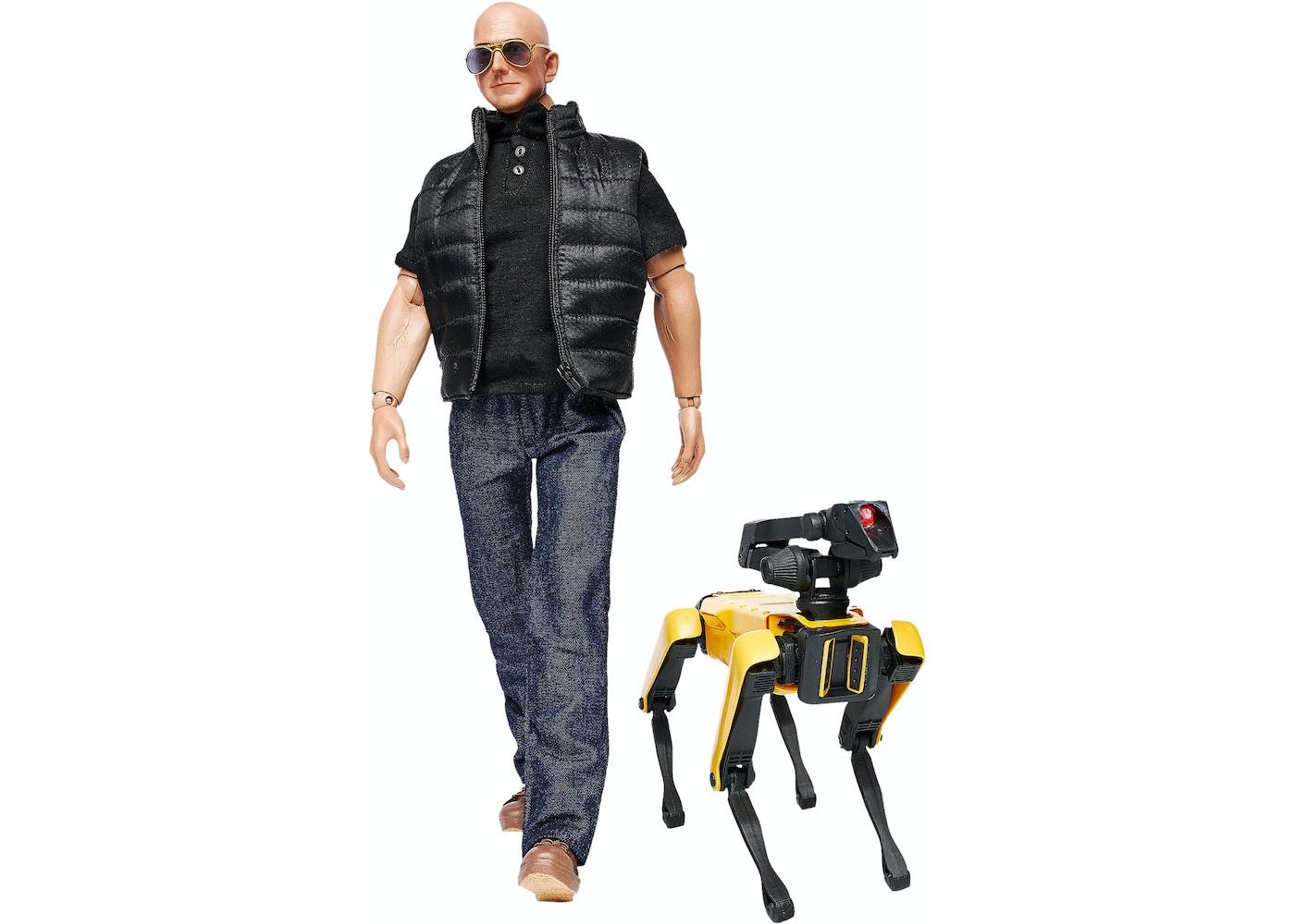 100 Billion Dollar Man Jeff Bezos Figure -