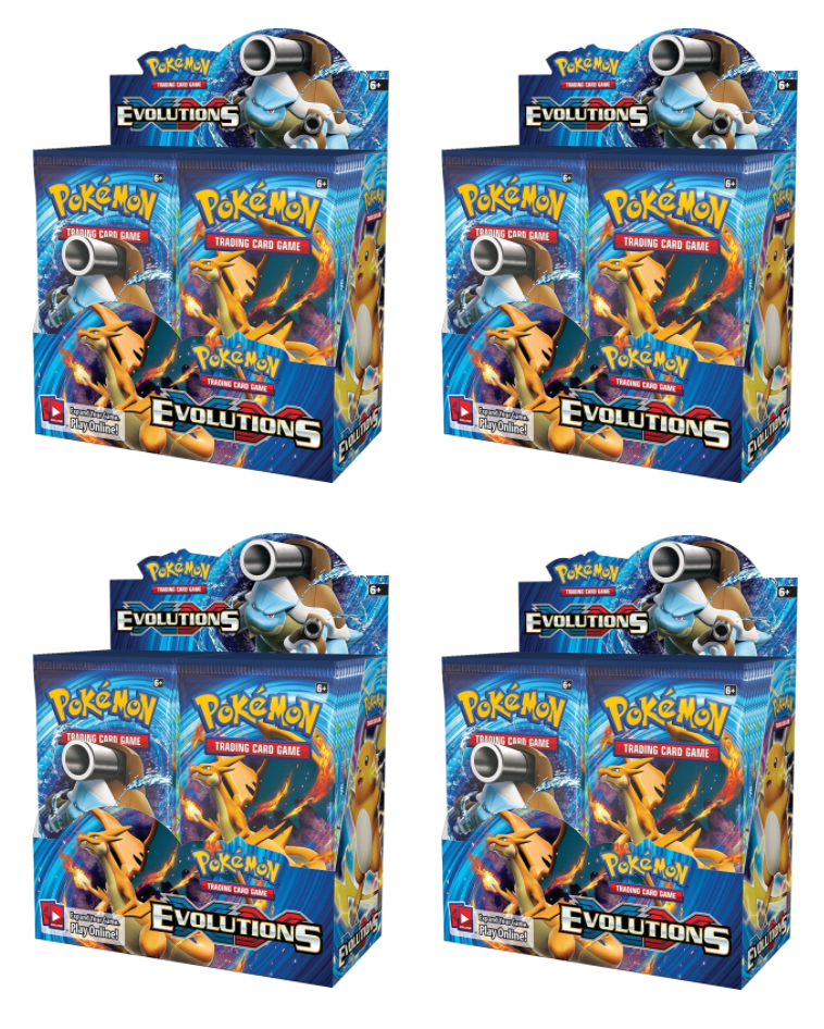 Pokémon XY Evolutions Booster Trading Card Game for sale online