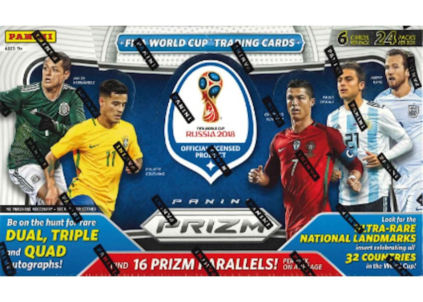 20 Panini Prizm World Cup Soccer Hobby Box
