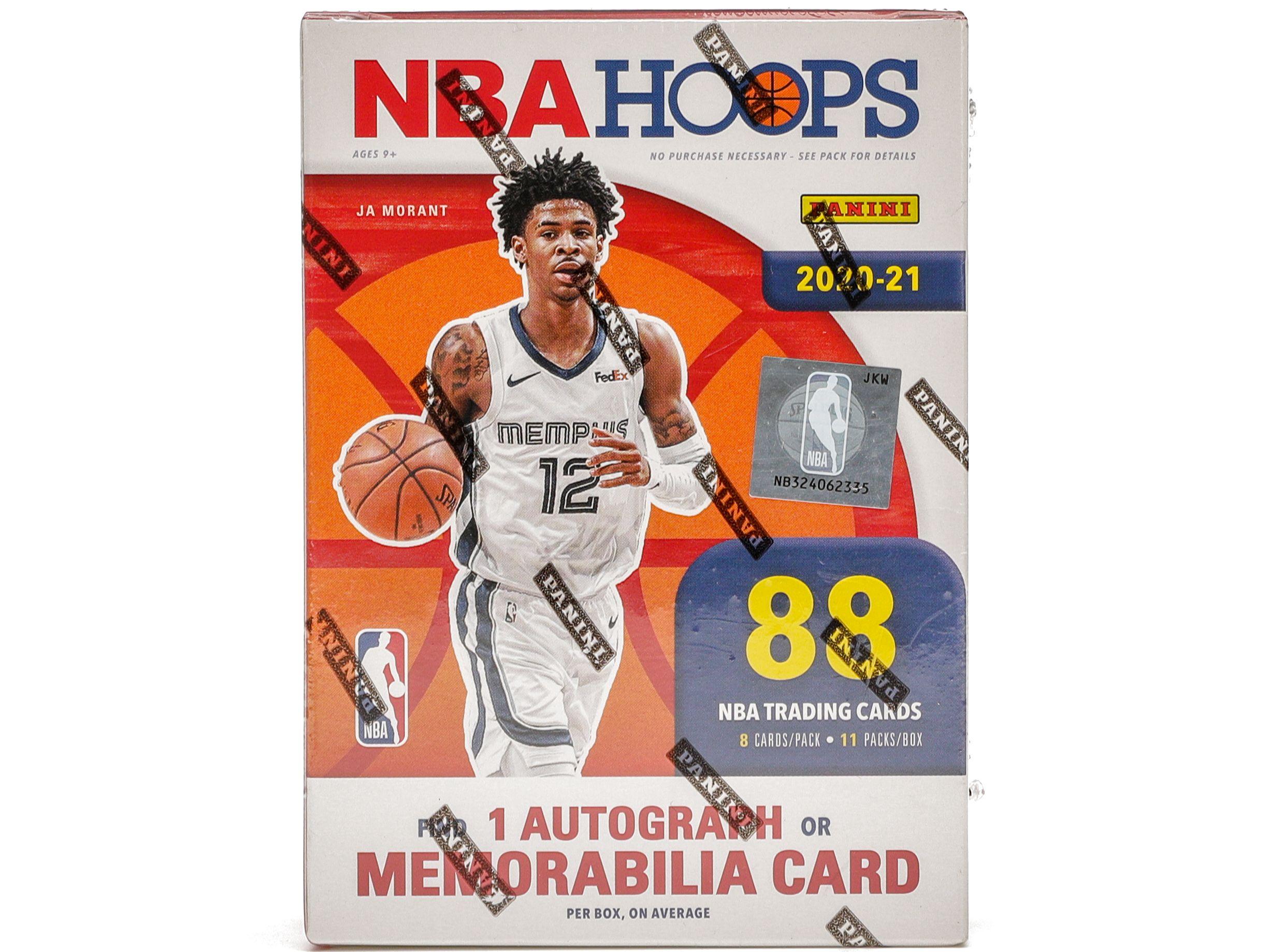 2020-21 Panini NBA Hoops Basketball Blaster Box