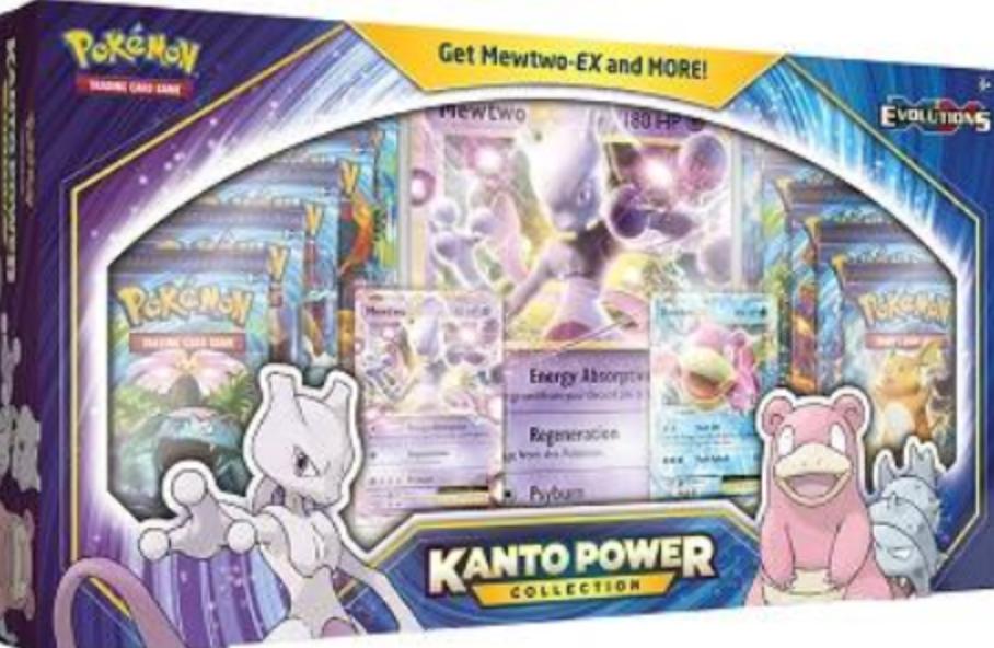 Pokémon XY Evolutions Kanto Power Collection Box