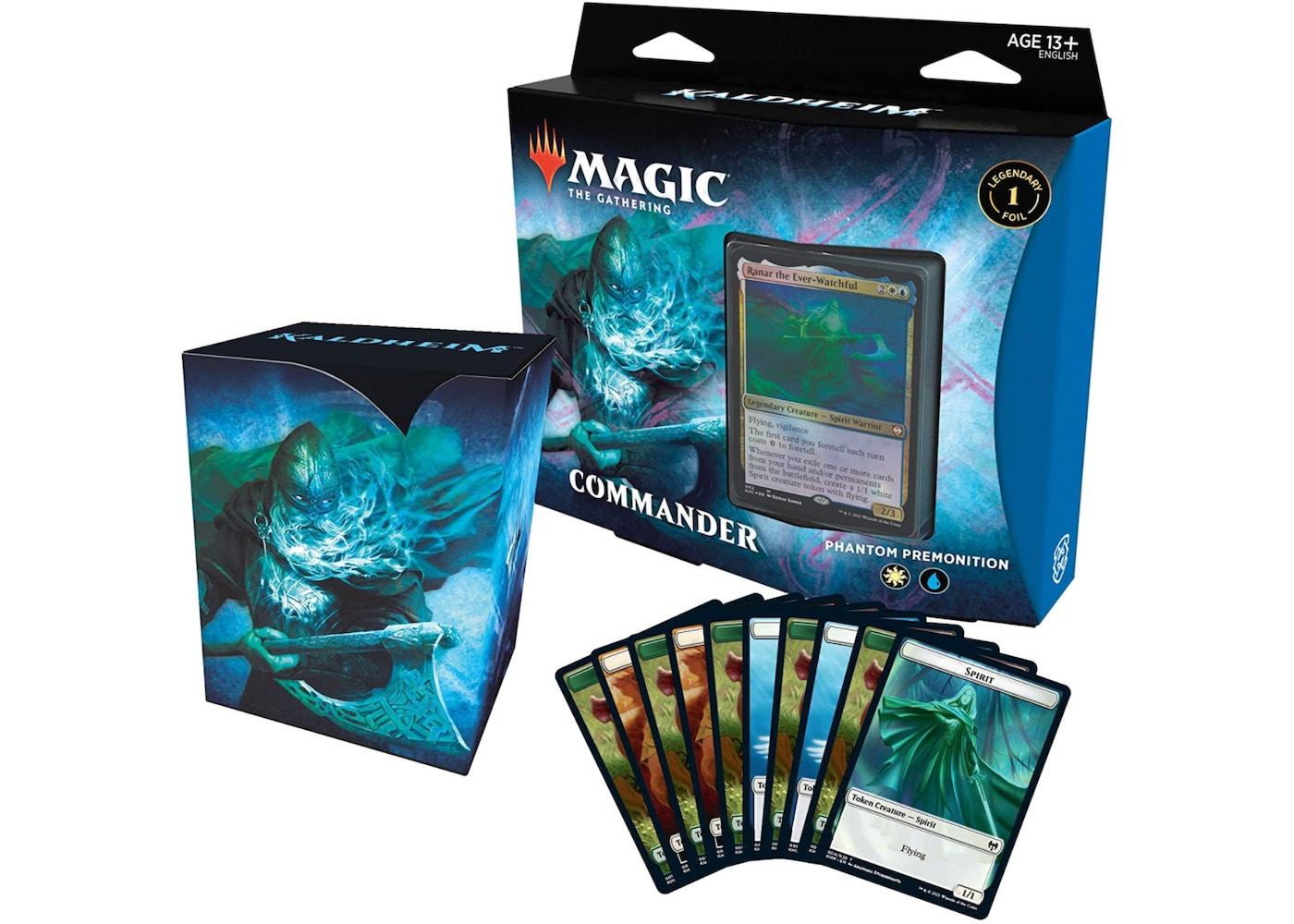 Magic The Gathering TCG Kaldheim Commander Deck Phantom Premonition