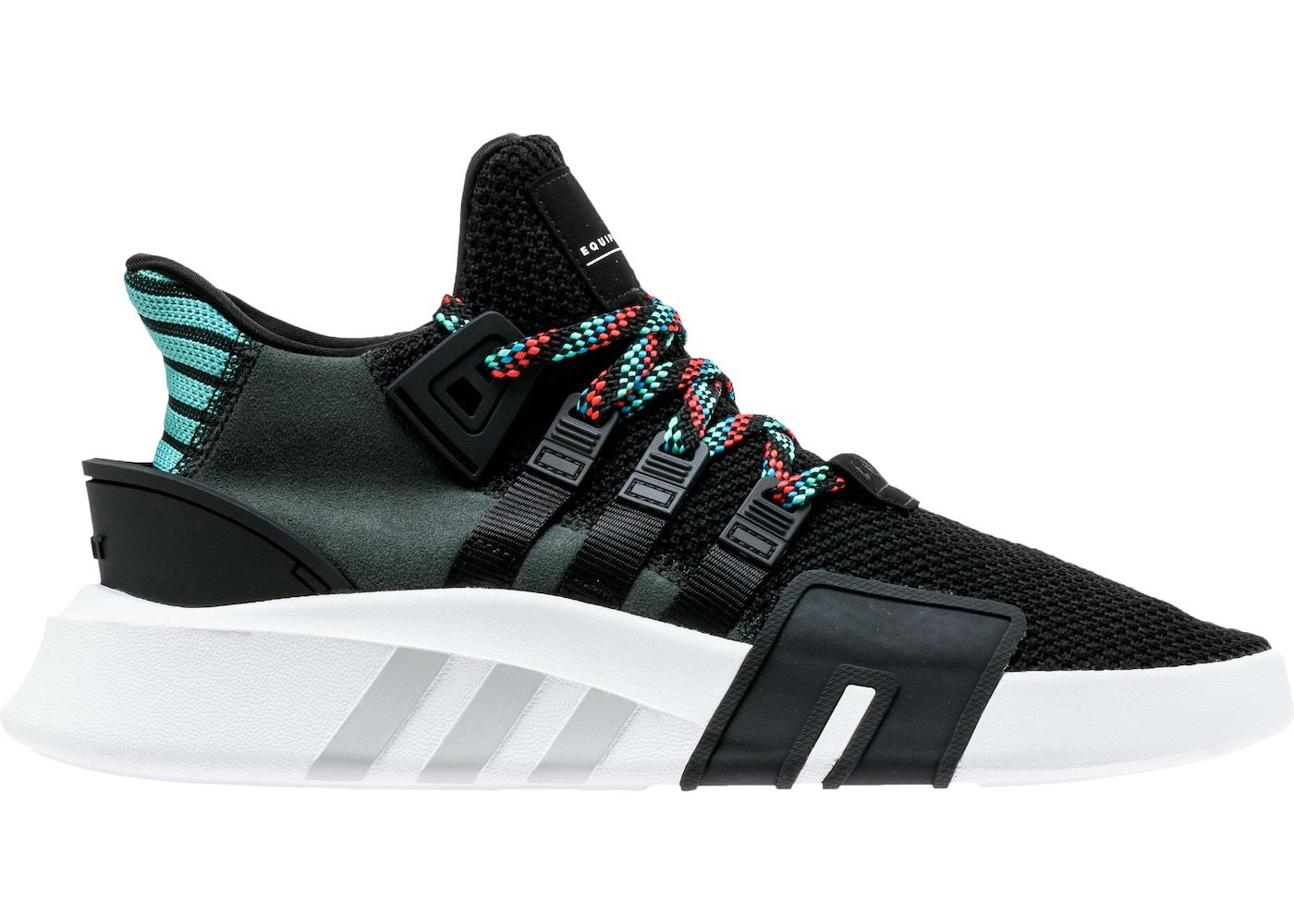 adidas EQT Basketball Adv Core Black Sub Green