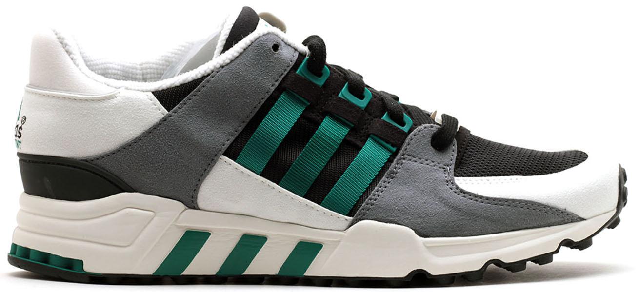 adidas EQT Running Support Black Sub Green