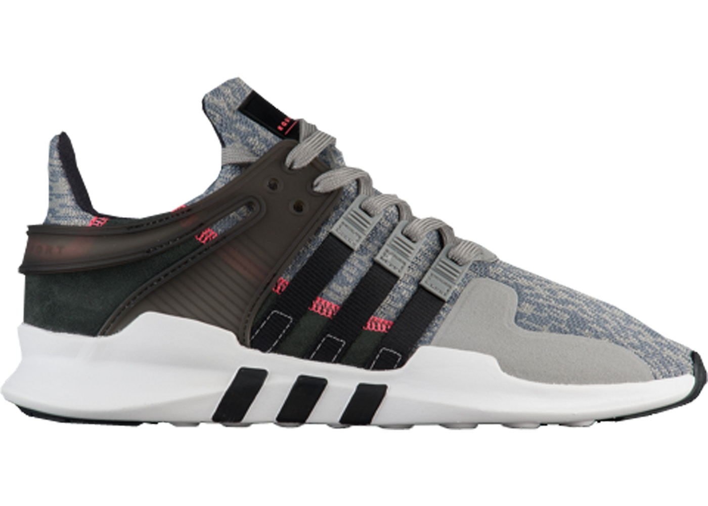 adidas EQT Support ADV Grey Black Turbo Red