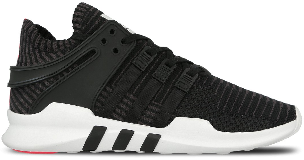 adidas originals eqt support advance trainers in black bb1260 off ...