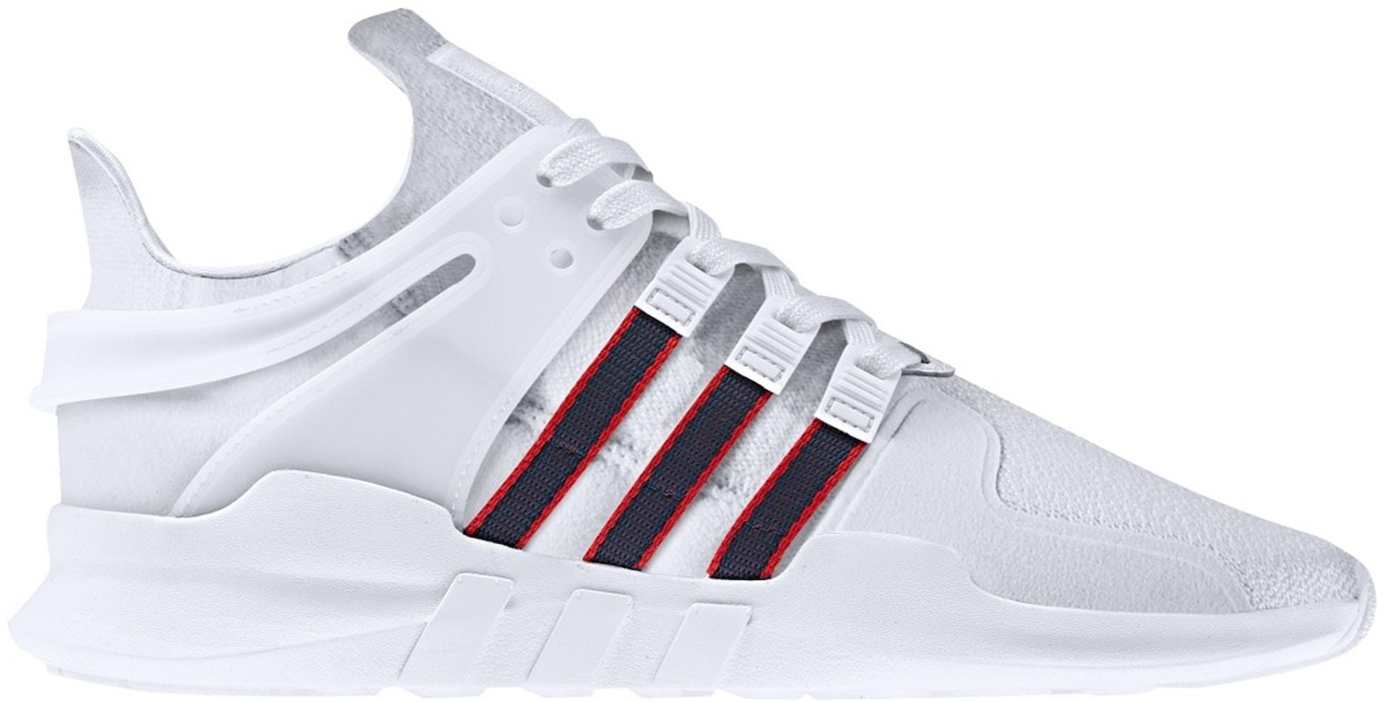 adidas EQT Support Adv White Navy Scarlet