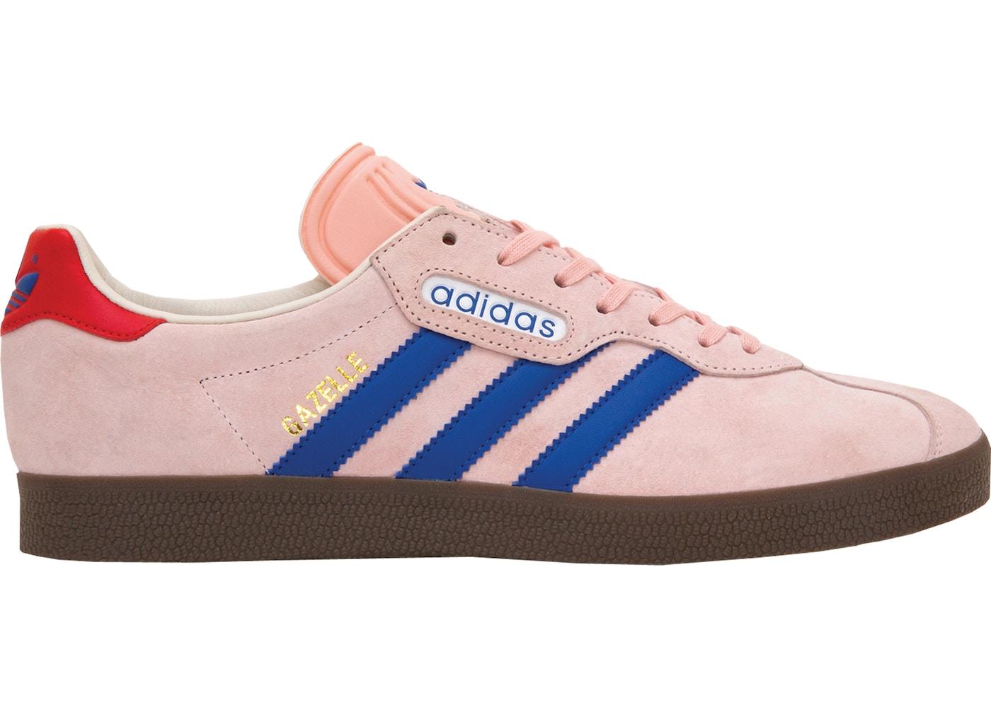 adidas Gazelle Super size? London to Manchester Pink - CQ1882