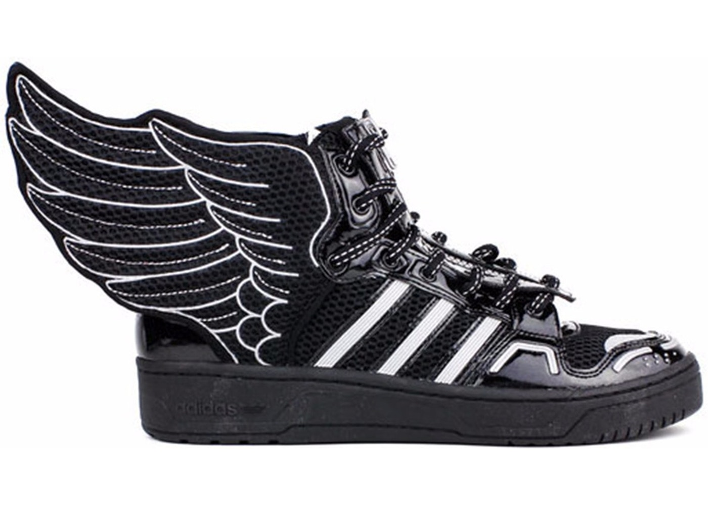 Triatleta salud cuero  adidas JS Wings 2.0 Jeremy Scott Mesh Black - S77802