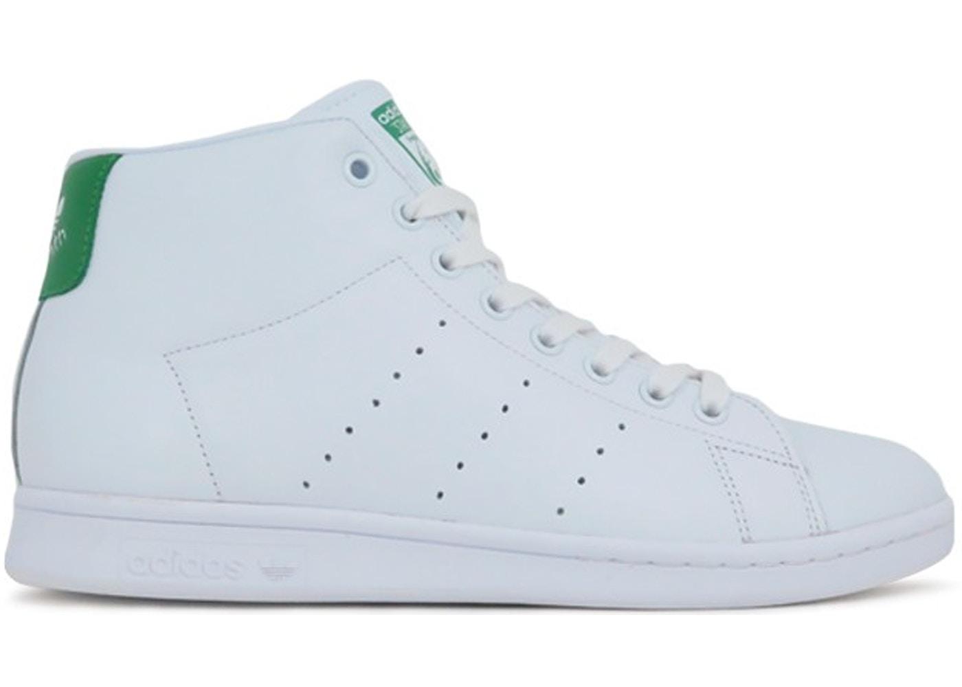 adidas Stan Smith Mid White Green - BB0069