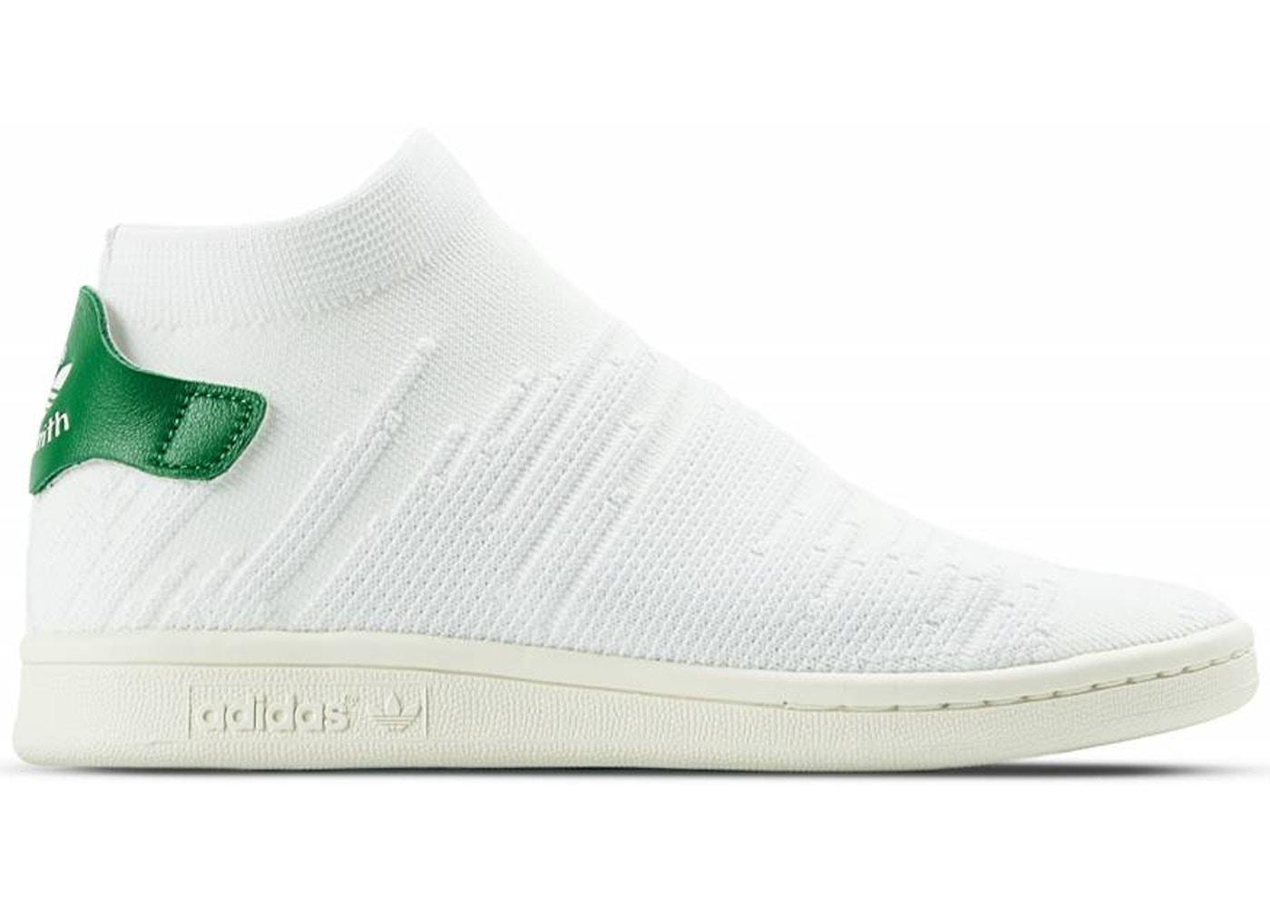 adidas Stan Smith Sock White Green (W)
