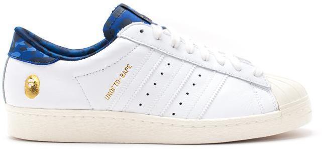 BAPE x Superstar 'White Black'