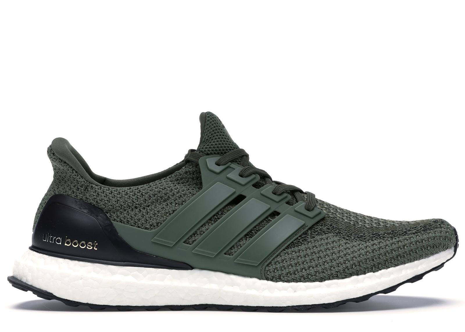 adidas Ultra Boost 2.0 Merino Wool Base Green Olive