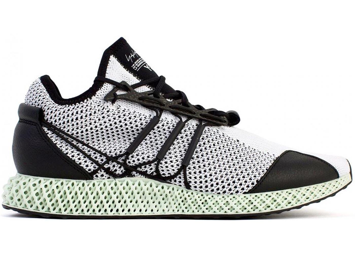 adidas Y-3 Runner 4D Black White