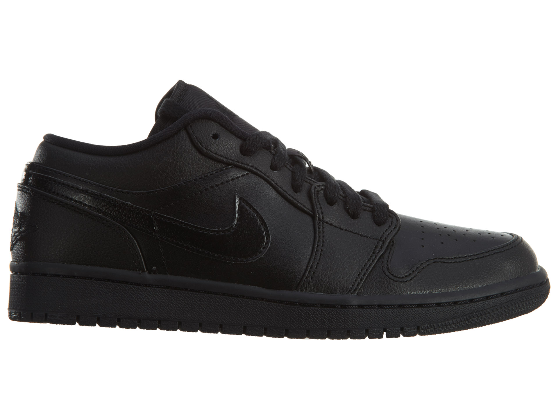 Jordan 1 Low Black Black Noir