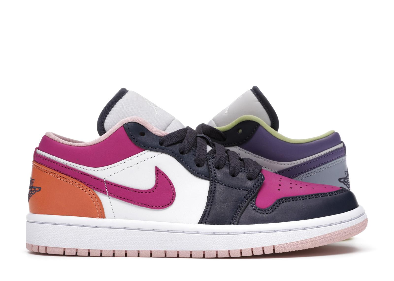Jordan 1 Low Purple Magenta (W) - DJ4342-400