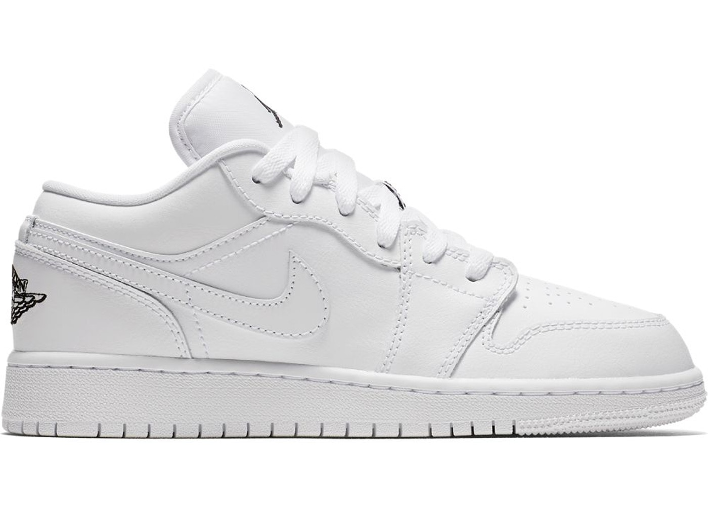 Jordan 1 Low Triple White Gs 553560 110