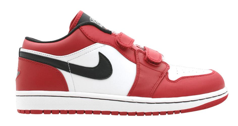 Jordan 1 Low Velcro Varsity Red