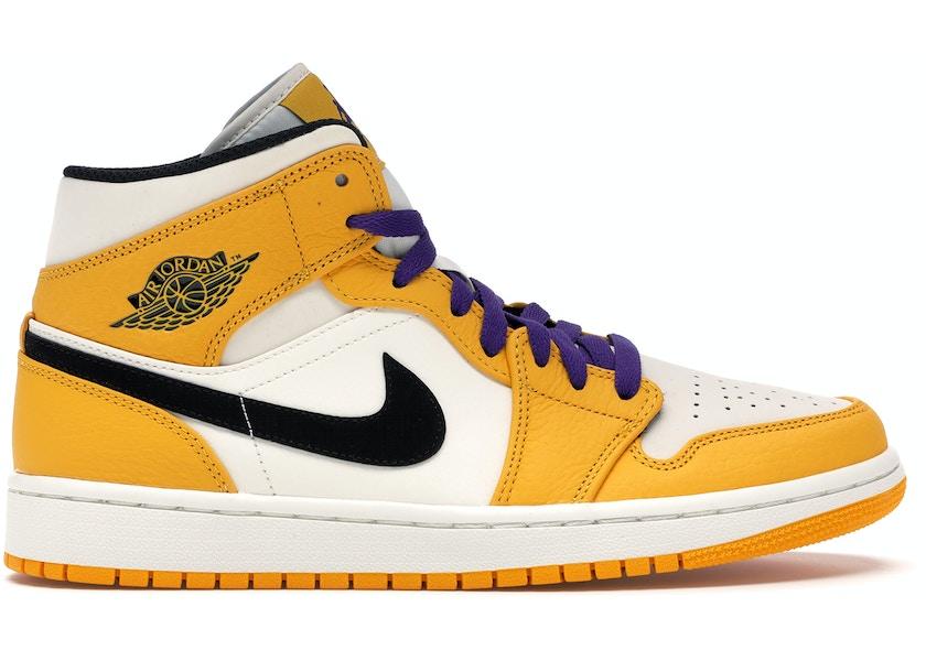 Jordan 1 Mid SE Lakers