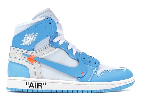 Jordan 1 Retro High Off-White University Blue - AQ0818-148