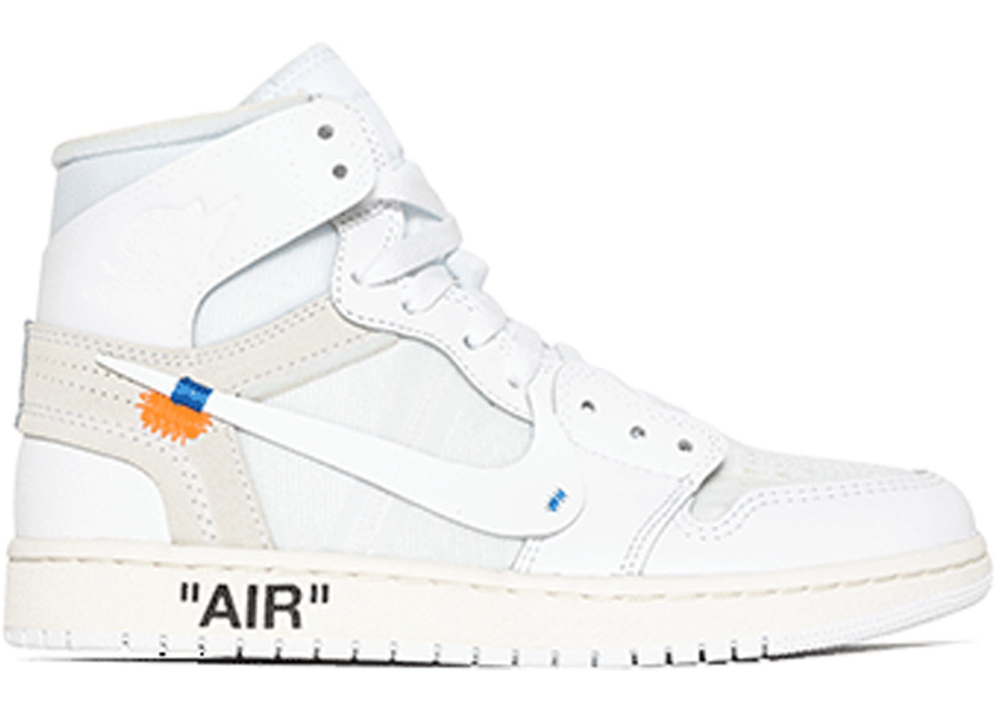 El propietario Reacondicionamiento incidente  Jordan 1 Retro High Off-White White (GS) - AQ8296-100