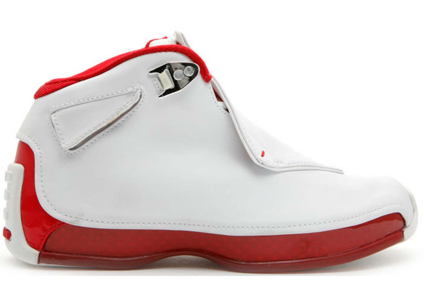 Jordan 18 OG White Red (GS) - 305886-161