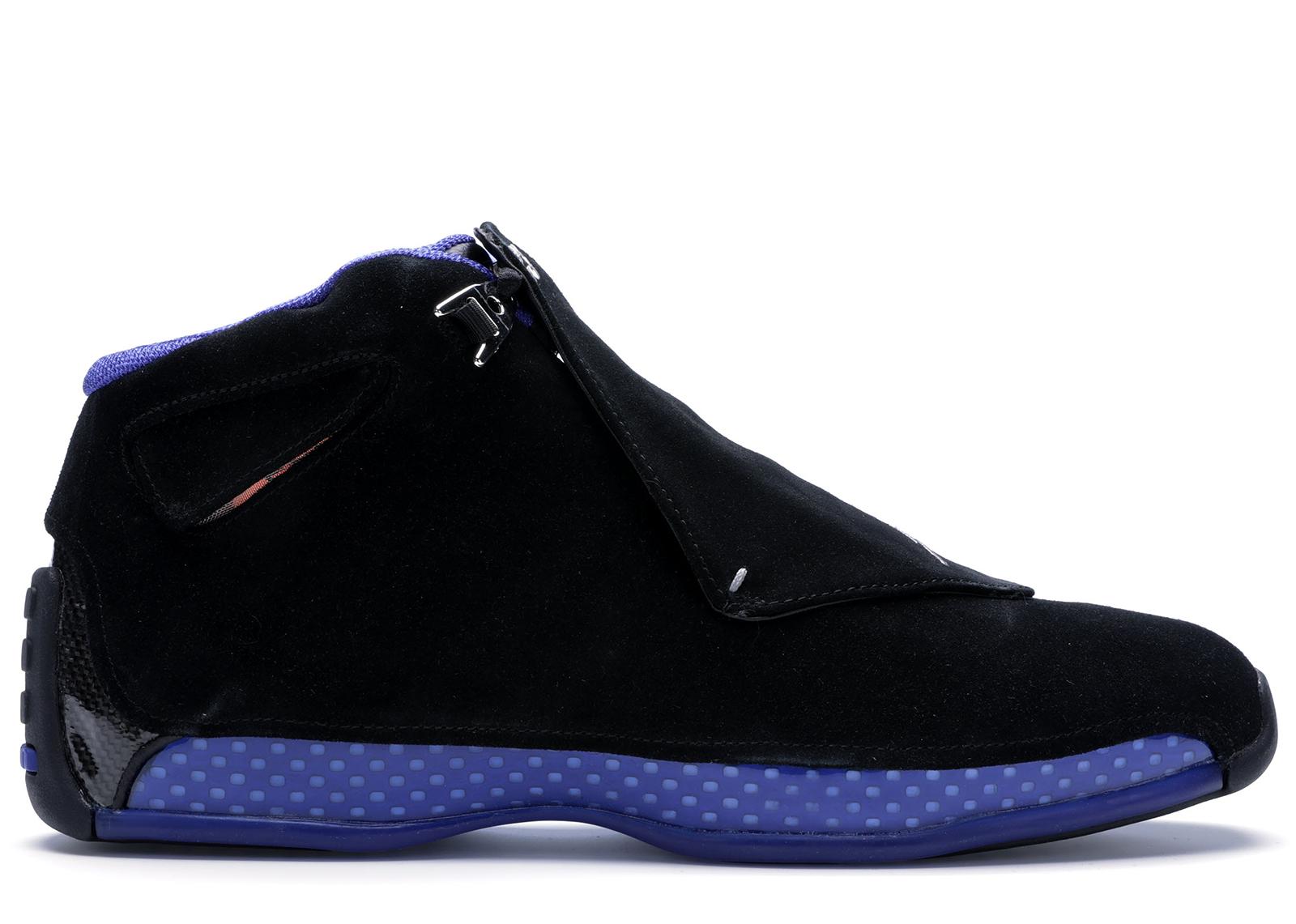 Jordan 18 Retro Black Sport Royal (2018) - AA2494-007