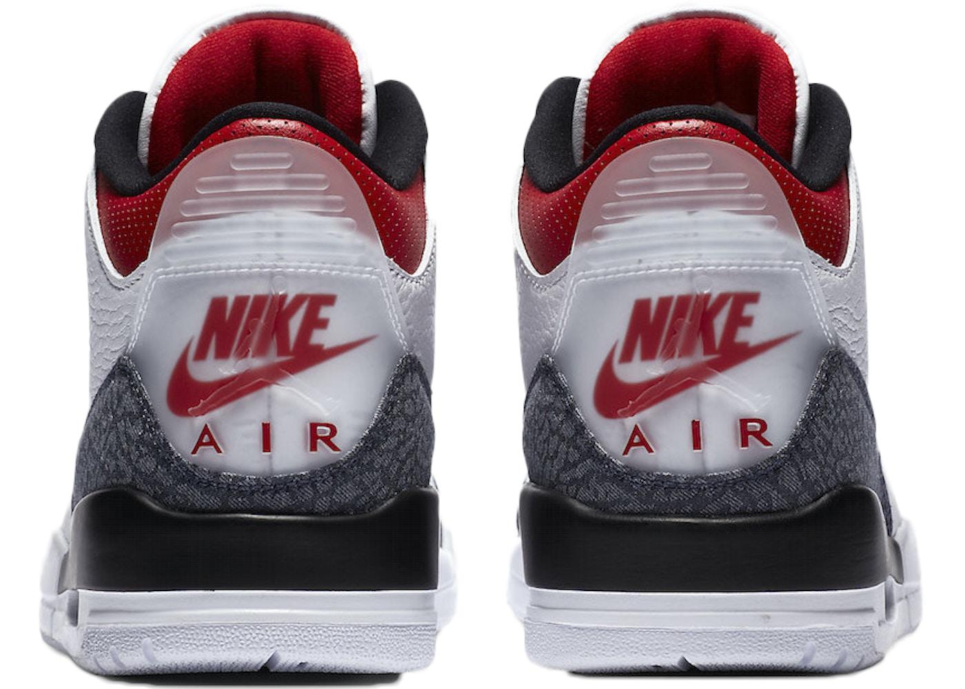 Jordan 3 Retro SE Fire Red Denim (2020)