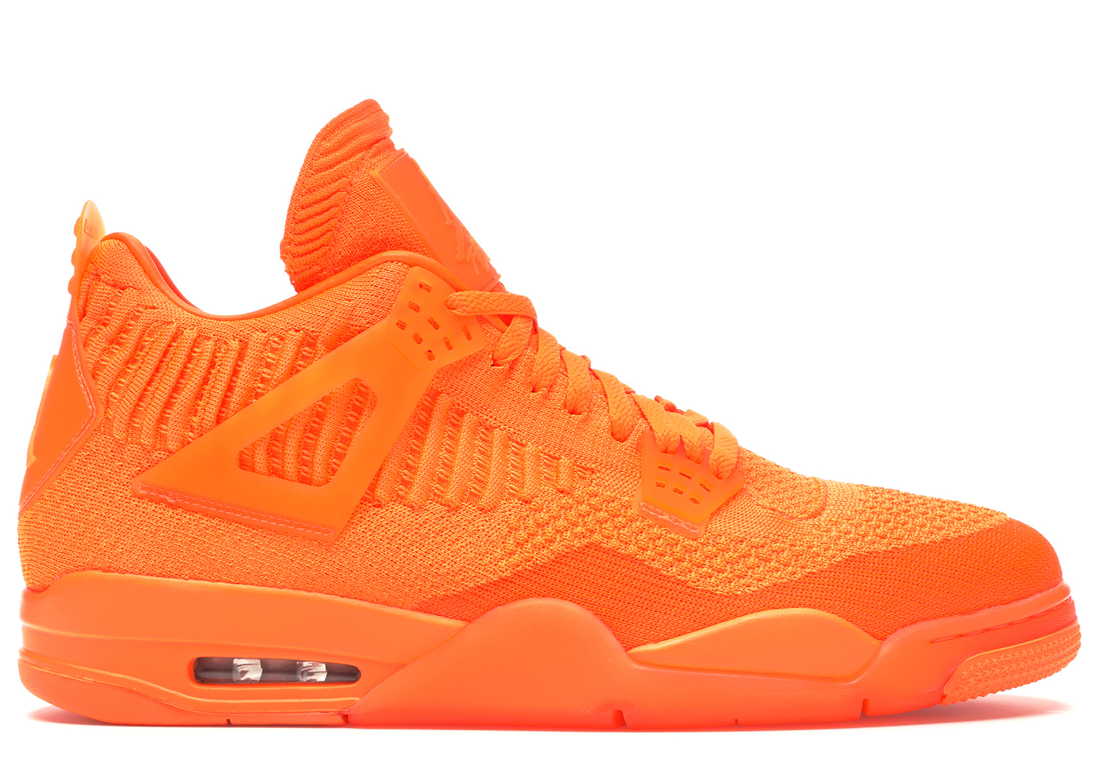 Jordan 4 Retro Flyknit Orange