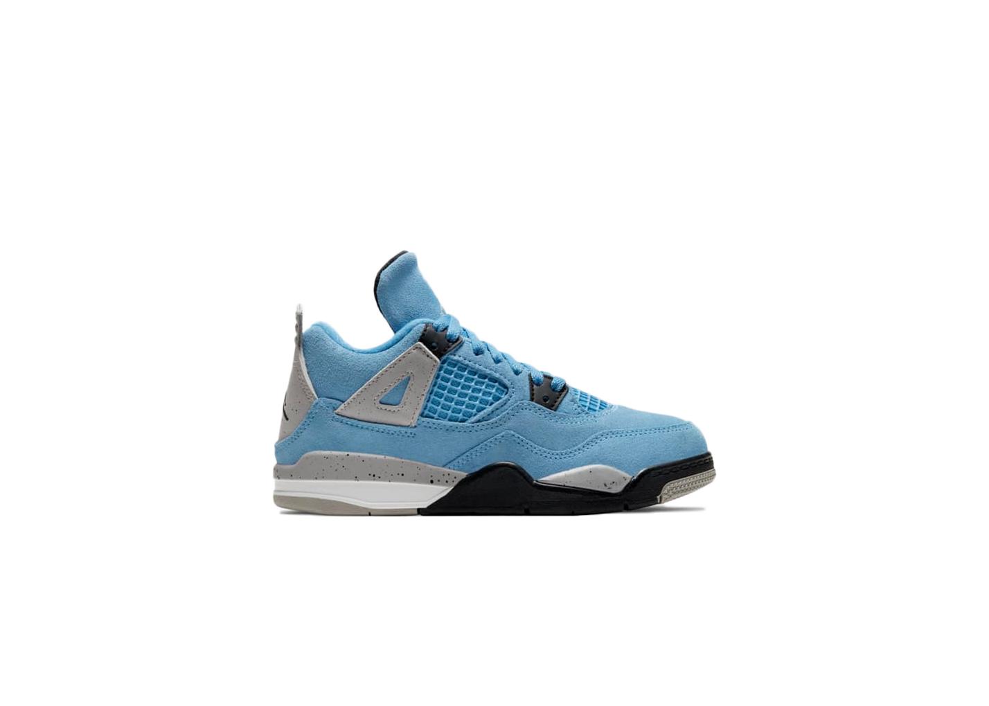 Jordan 4 Retro University Blue (PS)