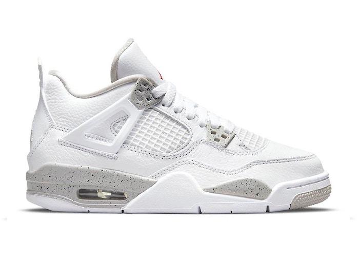 Jordan 4 Retro White Oreo (2021) (GS)
