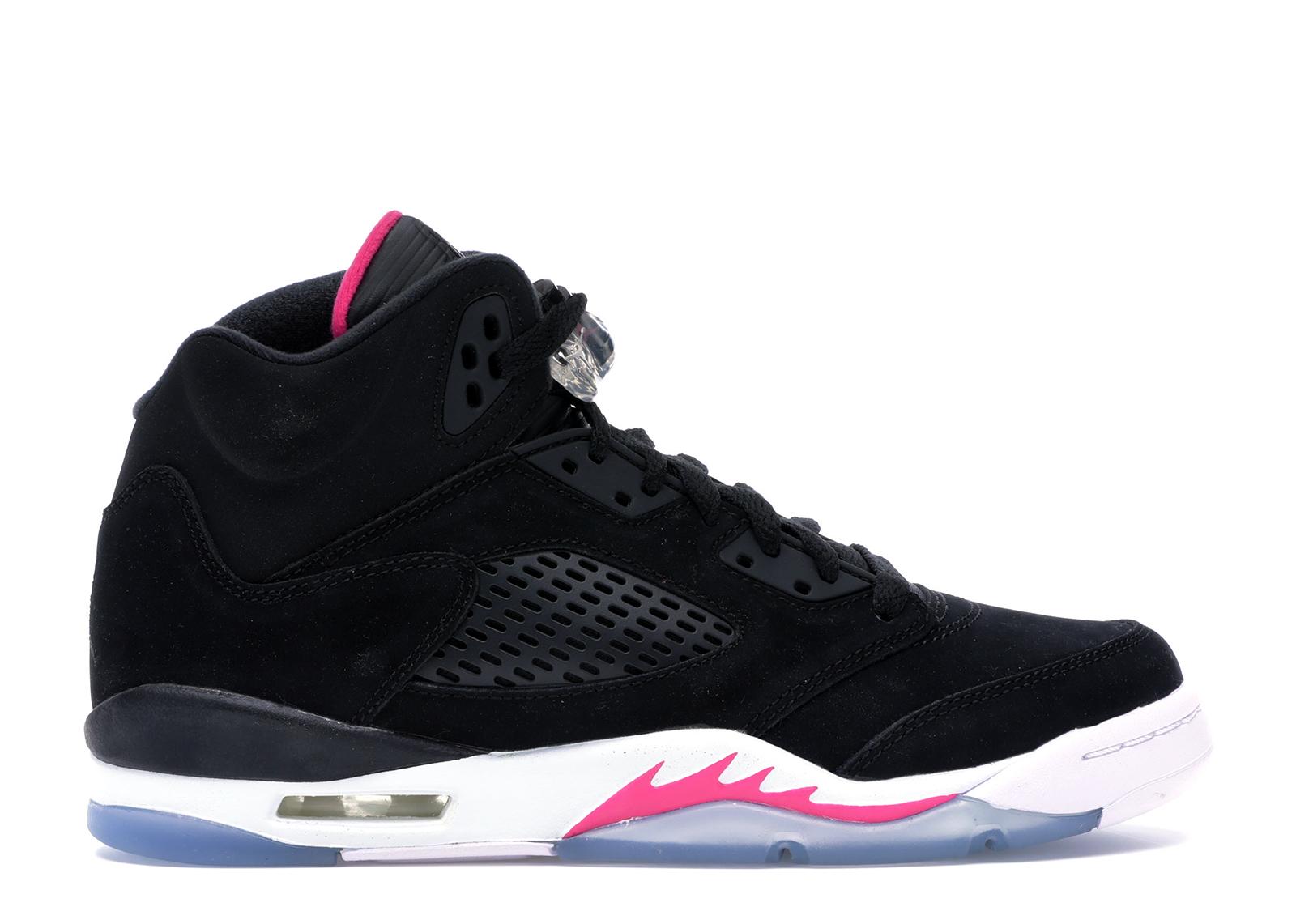 Jordan 5 Retro Black Deadly Pink (GS)