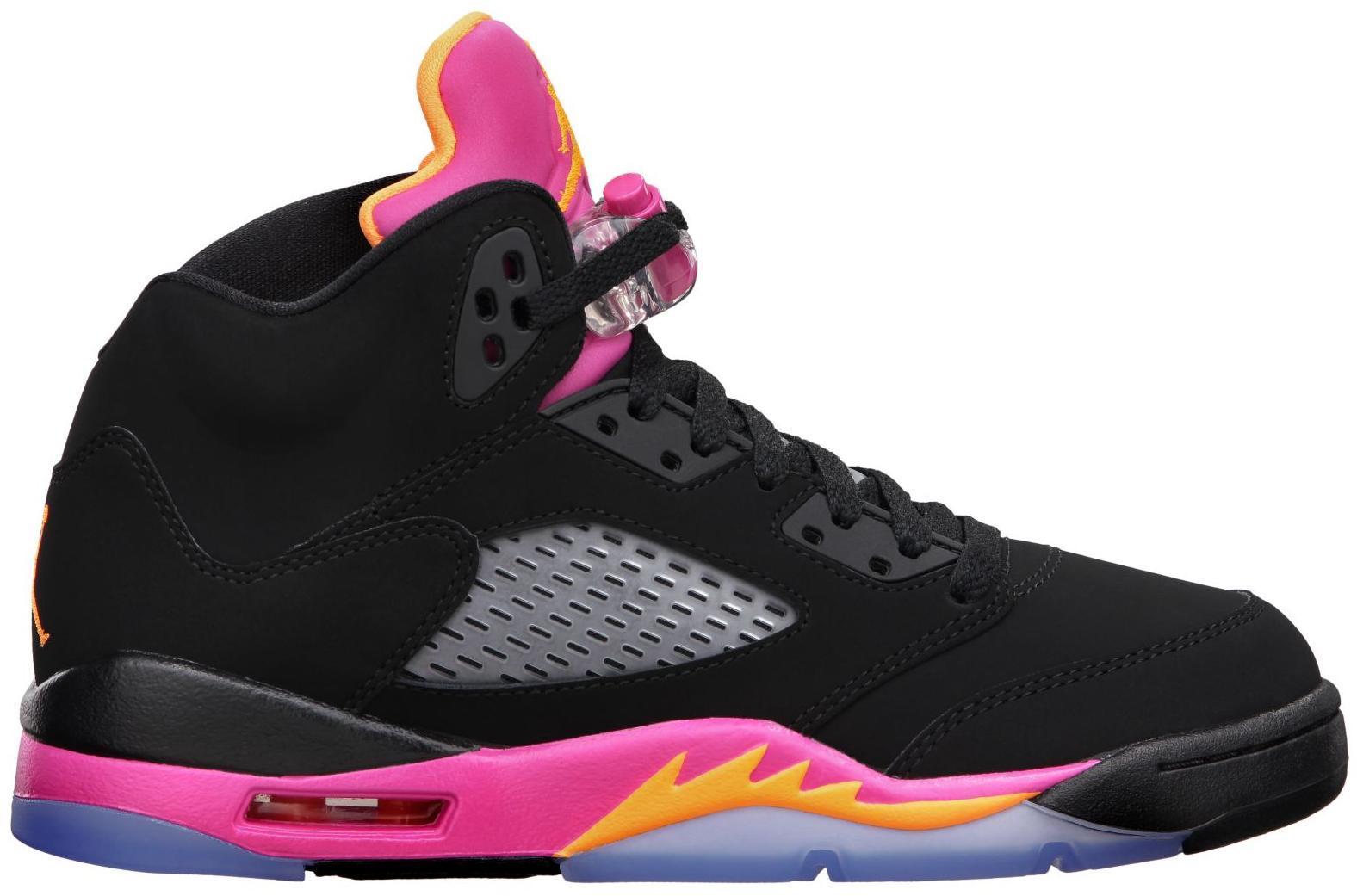 Jordan 5 Retro Black Pink (GS)