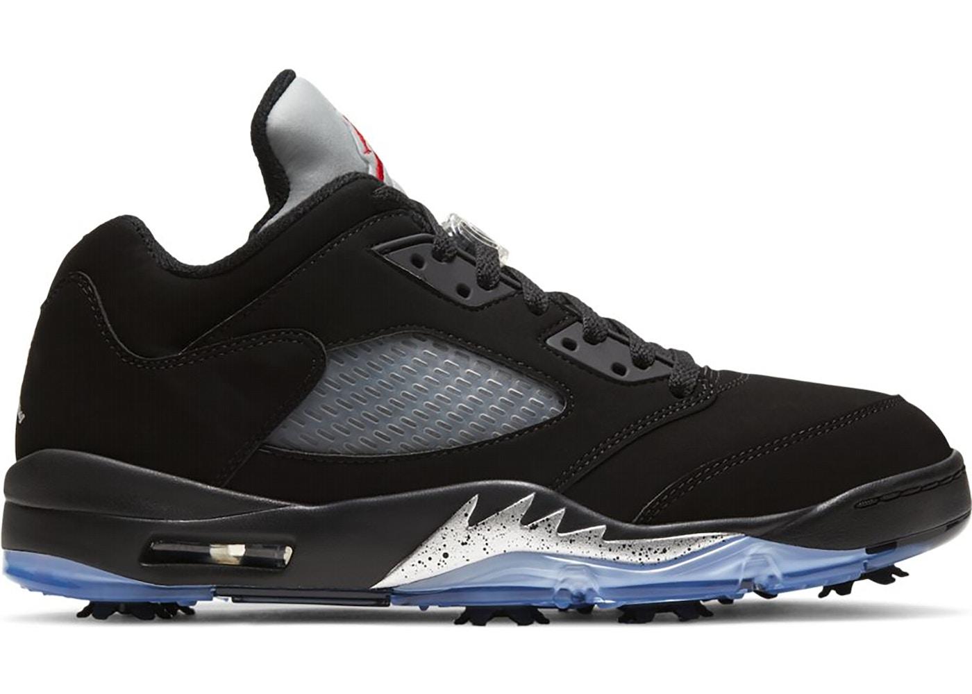 Air Jordan 5 Retro Low Golf Black Metallic - CU4523-003