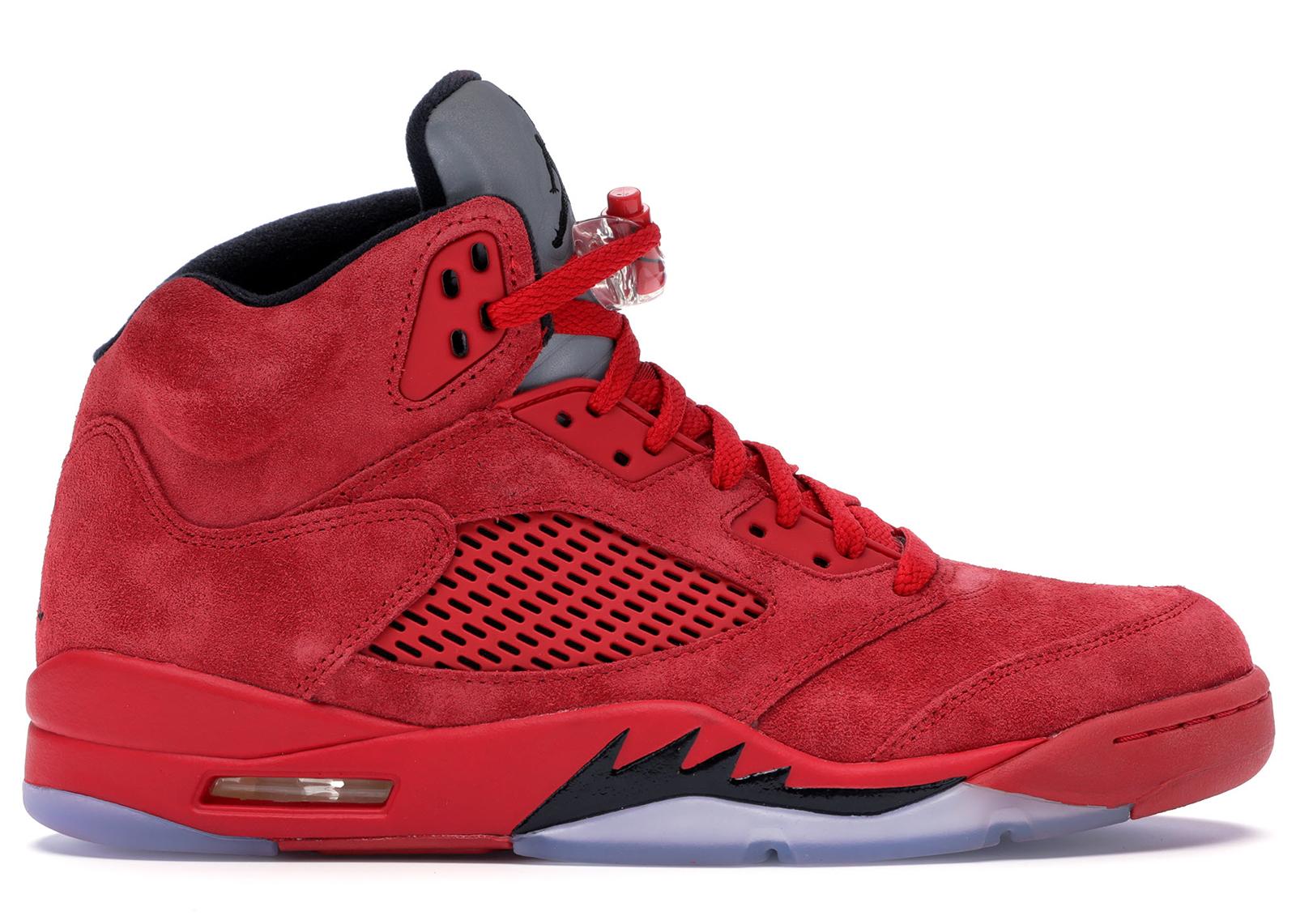 Air Jordan 5 Retro 'Raging Bull Red Suede'