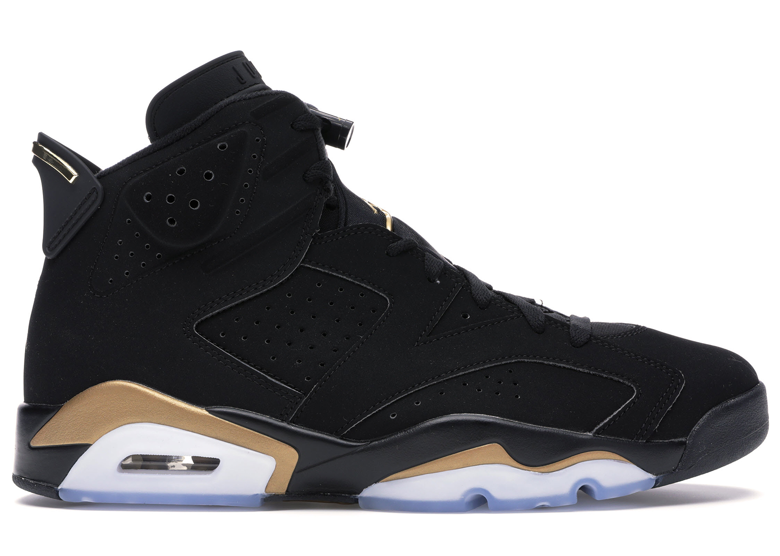 air jordan 6 noir et or