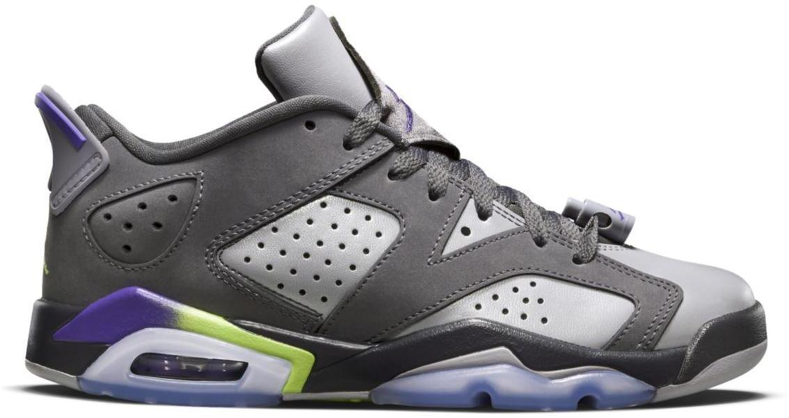 Jordan 6 Retro Low Dark Grey (GS)