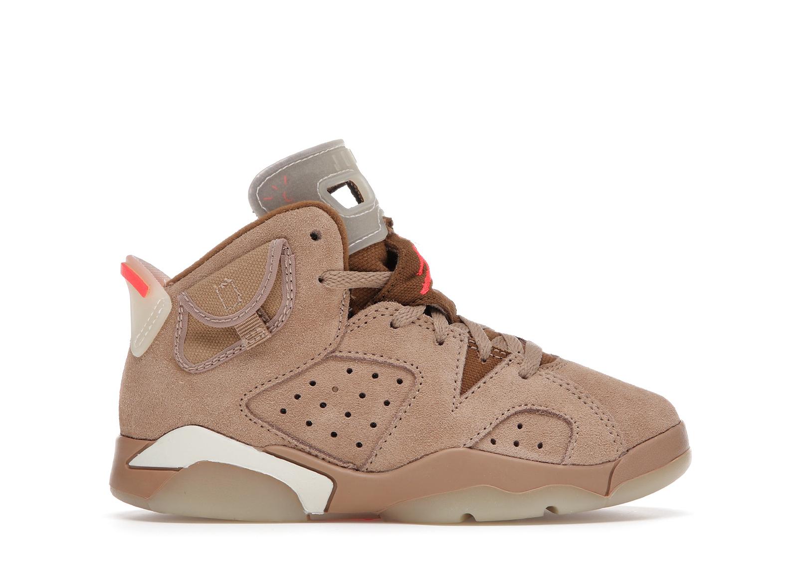 Jordan 6 Retro Travis Scott British Khaki (PS) - DH0693-200 from $149