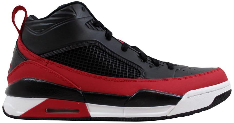Air Jordan Flight 9.5 Black/Gym Red-White - 654262-002
