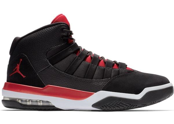 Jordan Max Aura Black Gym Red White