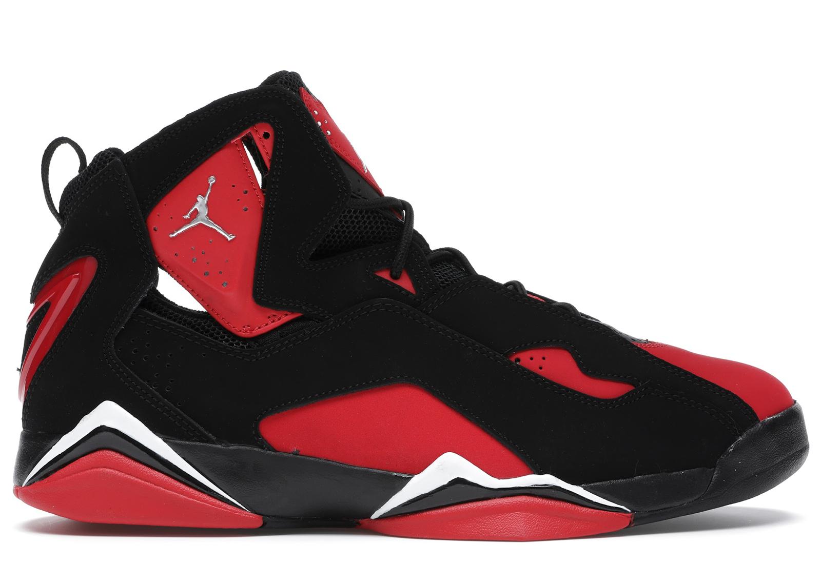 Jordan True Flight Black Red