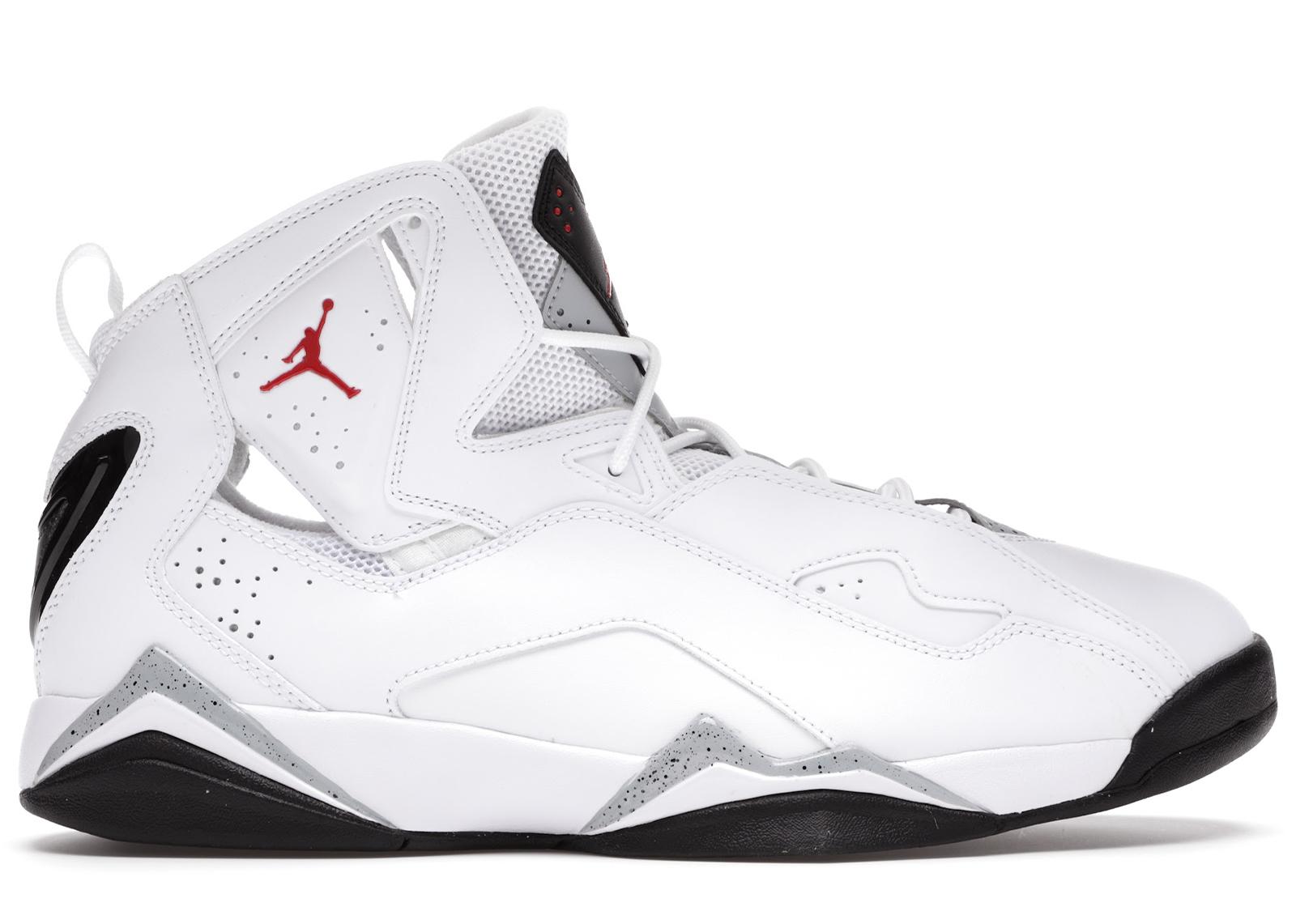 Jordan True Flight White Cement